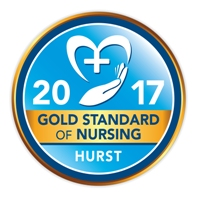 Hurst Gold Standard of Nursing seal