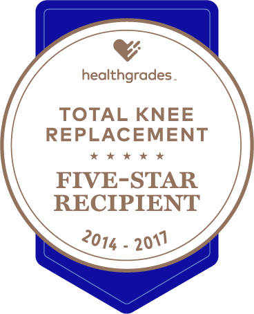 Sebastian Healthgrades Knee award